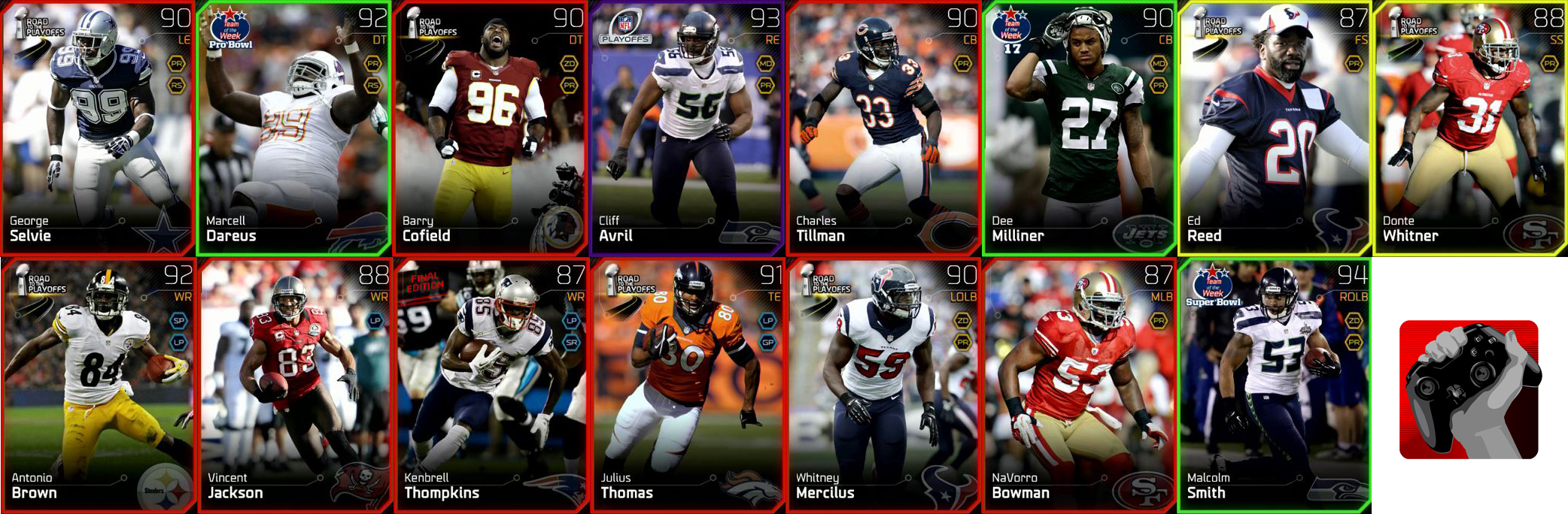 mut card giveaway all long pass or pass rush chemistry no all