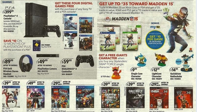 Awesome Best Buy Promo Next Week - Save $35 on Madden 15 and get ...