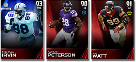 The full ratings for all madden ultimate team 15 base players have
