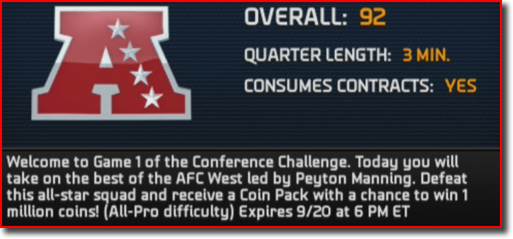 Conference Challenge