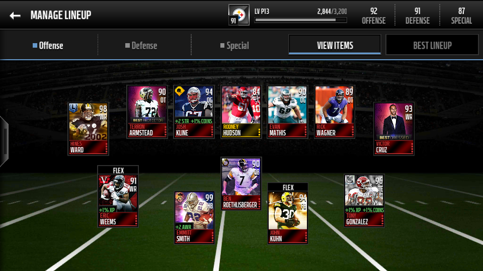 Elite Players Cheap With Good Boosts - Madden NFL Mobile Discussion