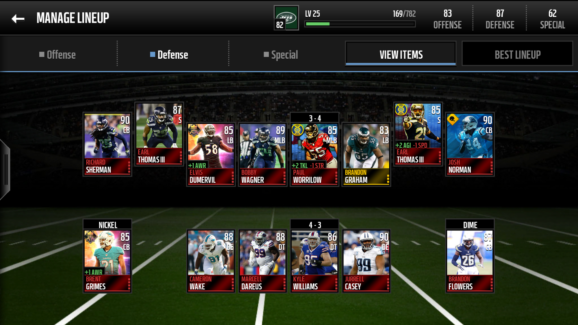 Two Earl Thomas III in my lineup - Madden NFL Mobile Discussion ... f04ad8259
