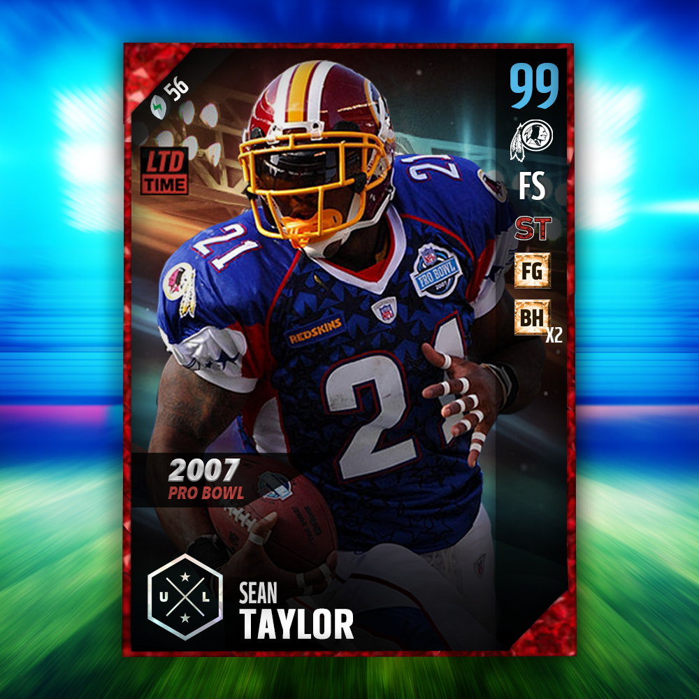 huge discount b1166 46abe Sean Taylor Ultimate legend design!! - Graphics - Off Topic ...