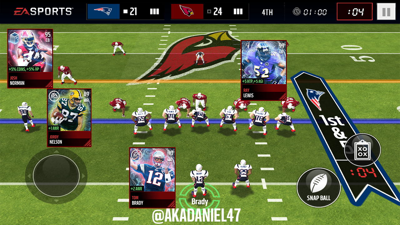 Madden mobile 18 concept madden nfl mobile discussion for Laden mobel