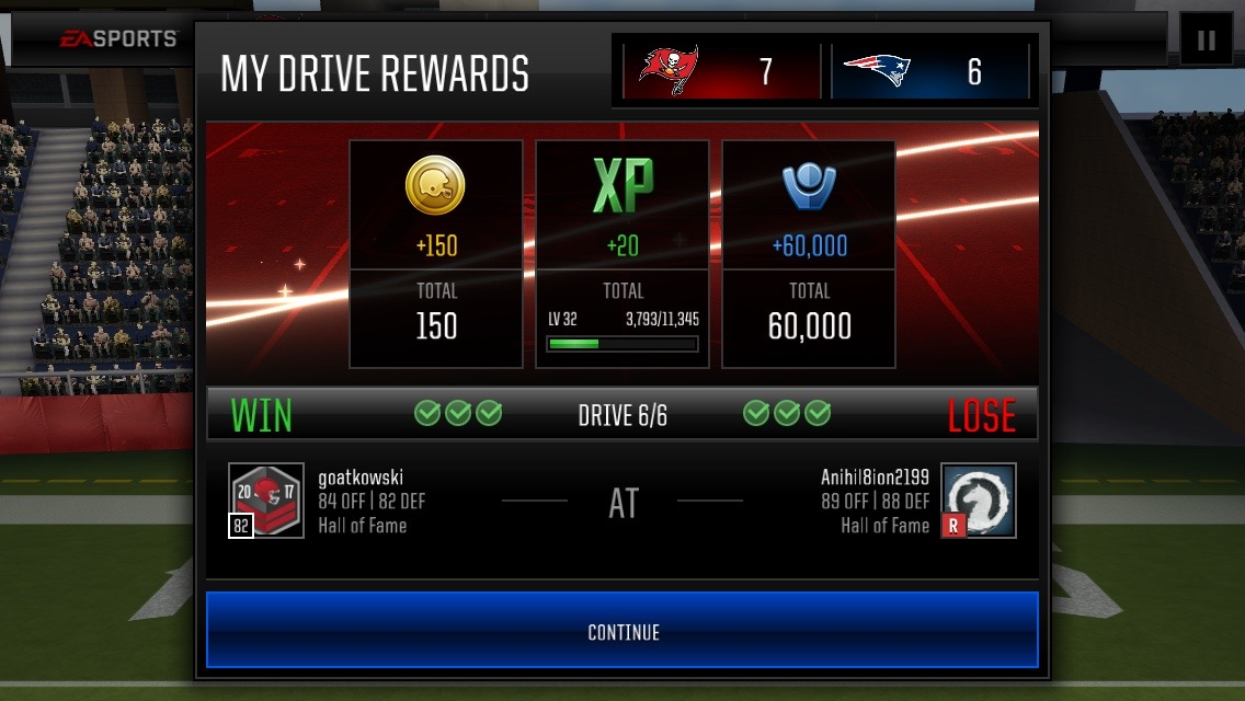 madden mobile matchmaking