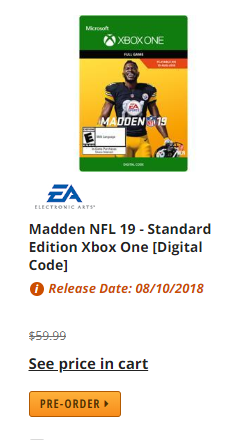 Madden NFL 19 Cover Athlete Antonio Brown - MUT Discussion
