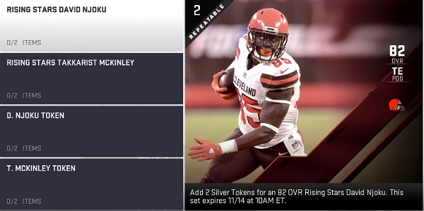a995c1a2c David Njoku and Takkarist McKinley are this week s Rising Stars. You can  train these players using Upgrade Tokens to increase their OVR and get up  to 6x ...