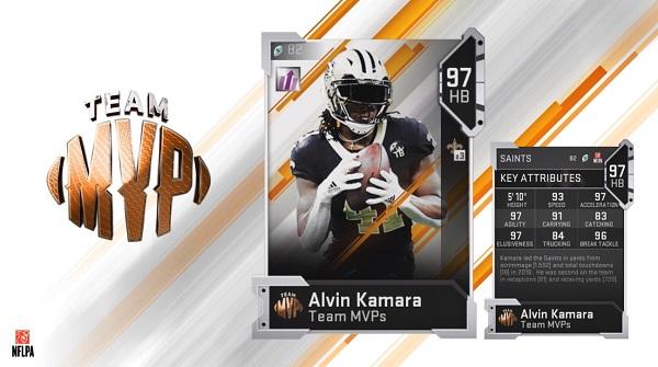 8c2211a54c4 MUT 19 Team MVPs: Alvin Kamara, Brandin Cooks, and more - News - Muthead