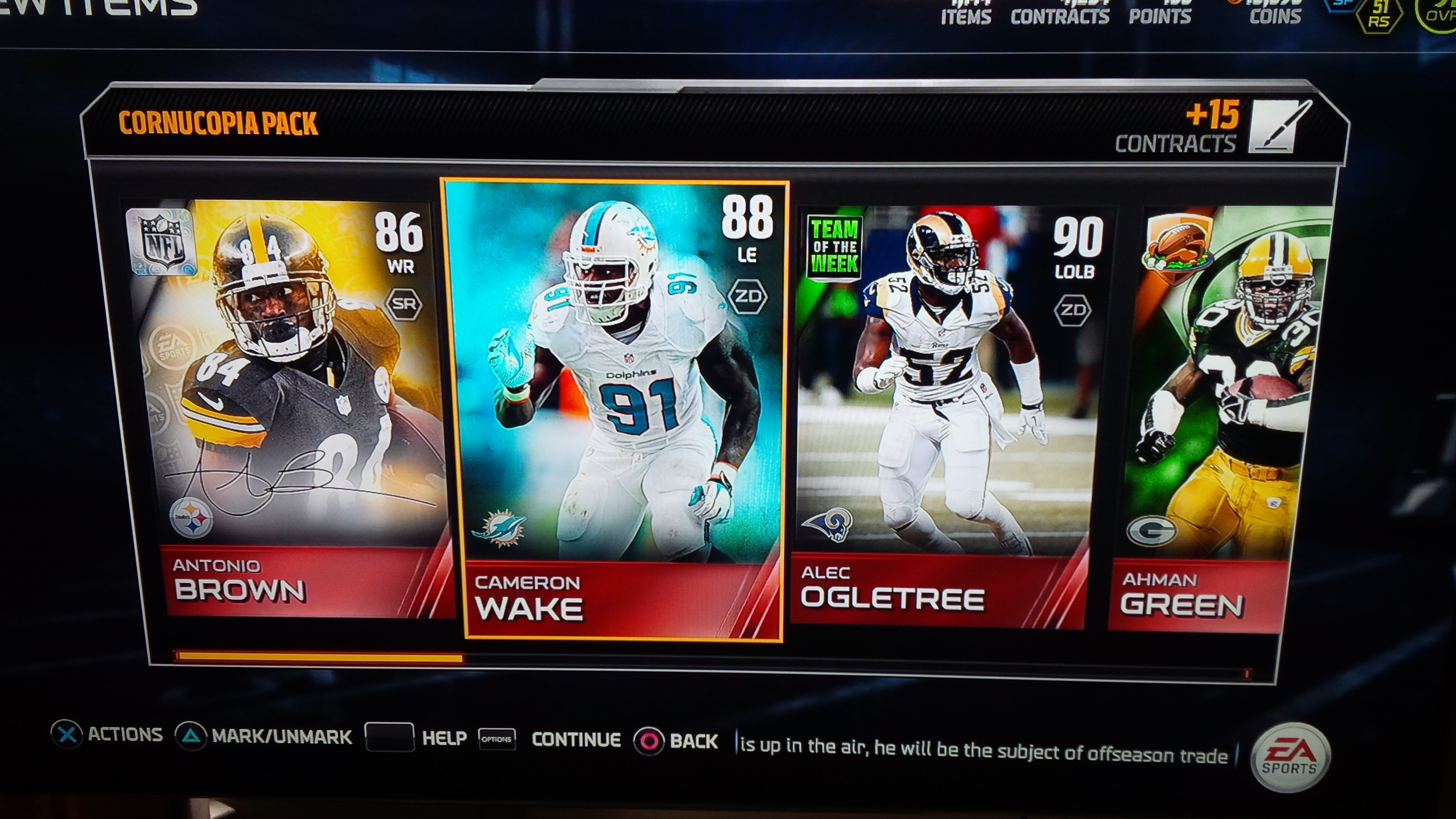 cornucopia pack was definitely worth it mut discussion madden